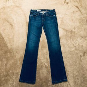 AG JEANS! THE ANGEL MID-RISE BOOTCUT! SIZE 26!